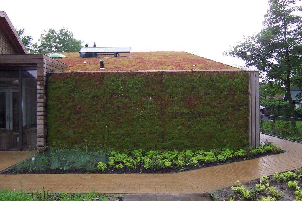 Daktuin bij woonzorgcentrum te stiens hoveniersbedrijf for Prijzen tuinonderhoud