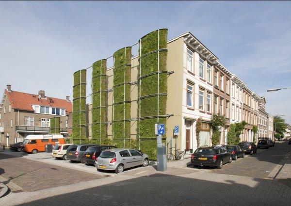 Gebouwen worden verticale tuinen