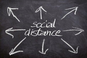 IMG social distance 300x200 - Hoe houden hoveniers 1,5 meter afstand?