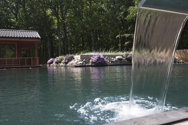 Nieuwe spa wellness met zwemvijver in soesterberg