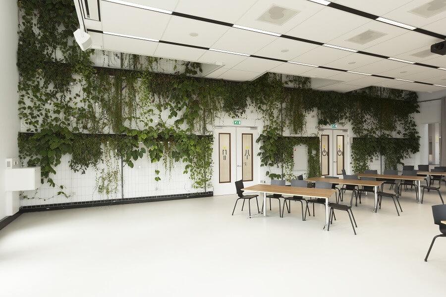 Interieurbeplanting dome x oss koninklijke ginkel groep for Interieur beplanting