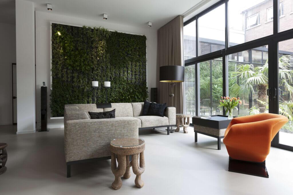 Verticale Tuin Binnen : Verticale tuin trend 2017 koninklijke ginkel groep