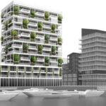 Bomen voor circulaire woontoren Amsterdam