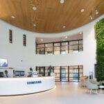 Groene blikvanger voor Samsung