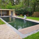 Natuurzwembad bij particulier in Zeist gerealiseerd door De Koninklijke Ginkel Groep