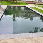 Natuurzwembad bij particulier in Zeist
