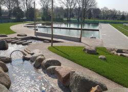natuurlijk gezuiverd zwembad De Peppel